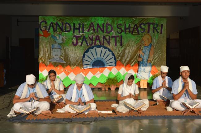 GANDHI JAYANTI CELEBRATION 2018