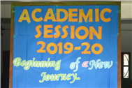 Beginning Of New Academic Session